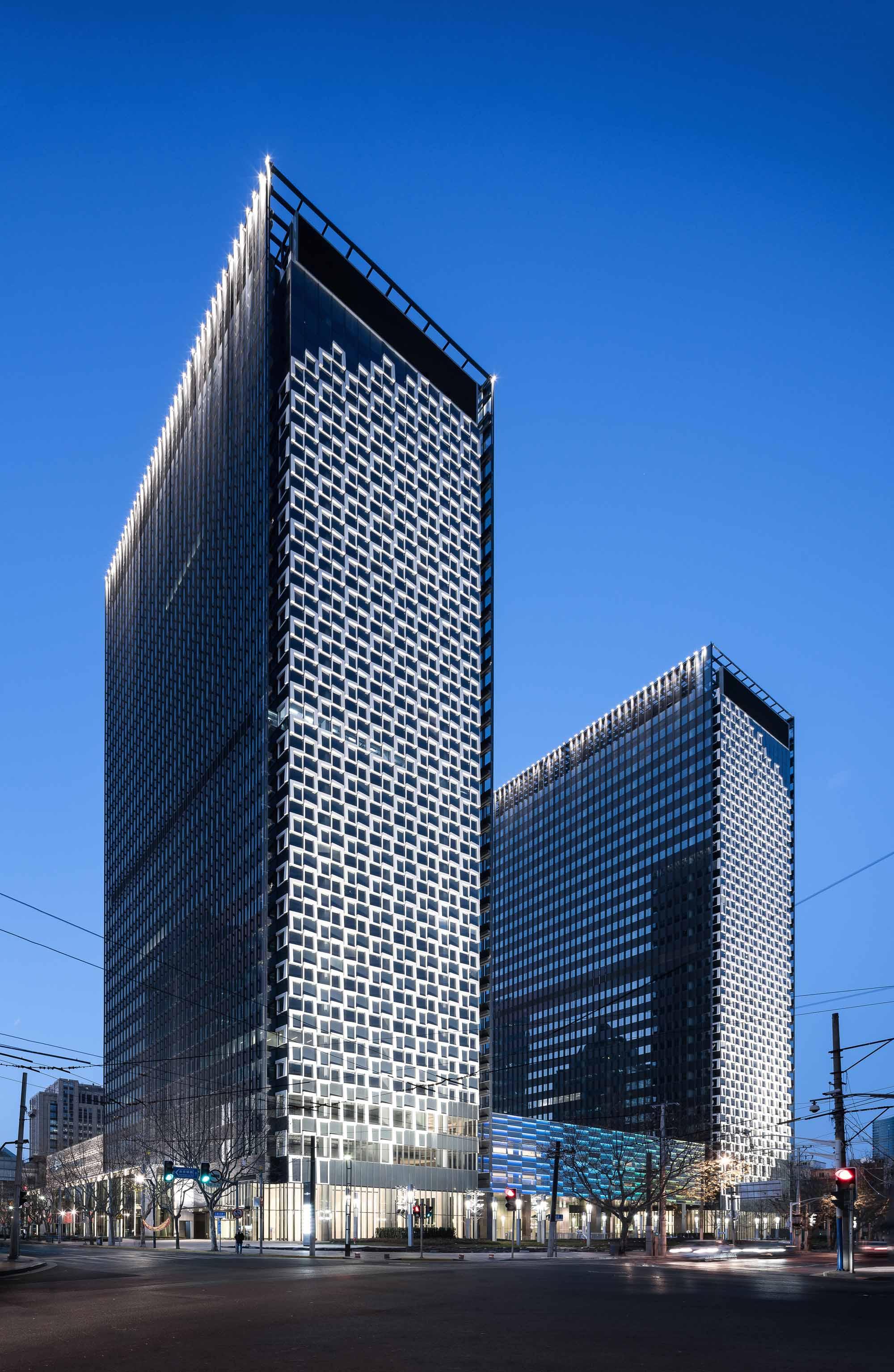 Shanghai Landmark Center Architect Magazine