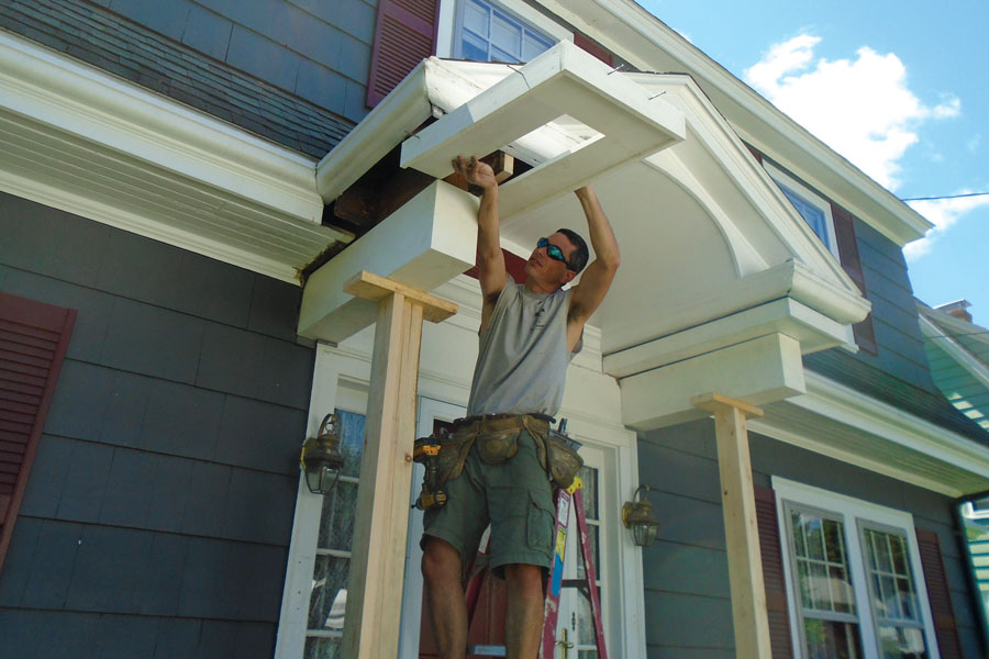 New Columns For An Old Porch JLC Online Porches