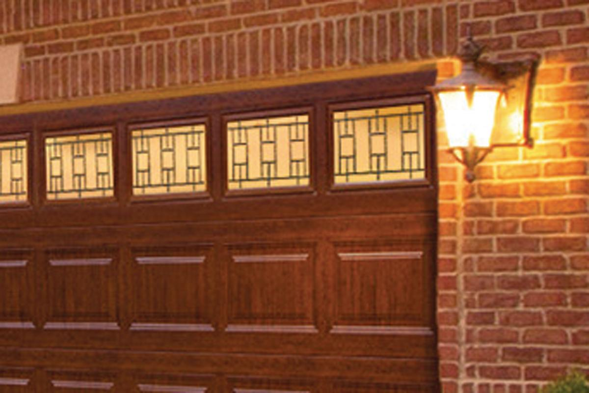 Clopay Ultra Grain Finish In Cherry Remodeling Doors