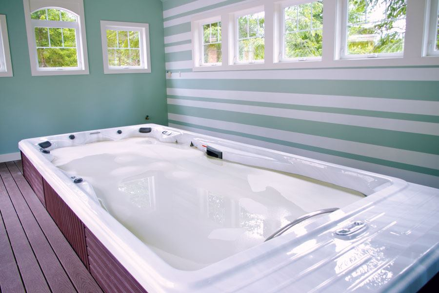 Indoor Hot Tub Installations In Detail Pool Amp Spa News