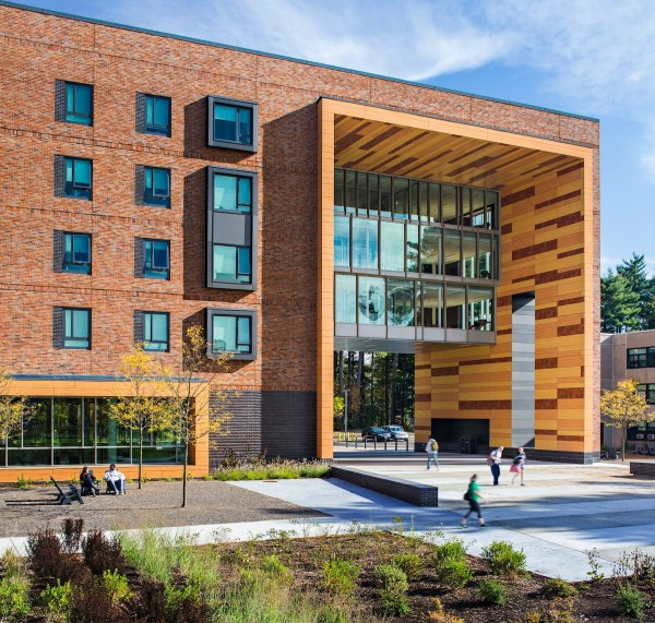 Westfield State Universitys New University Hall and