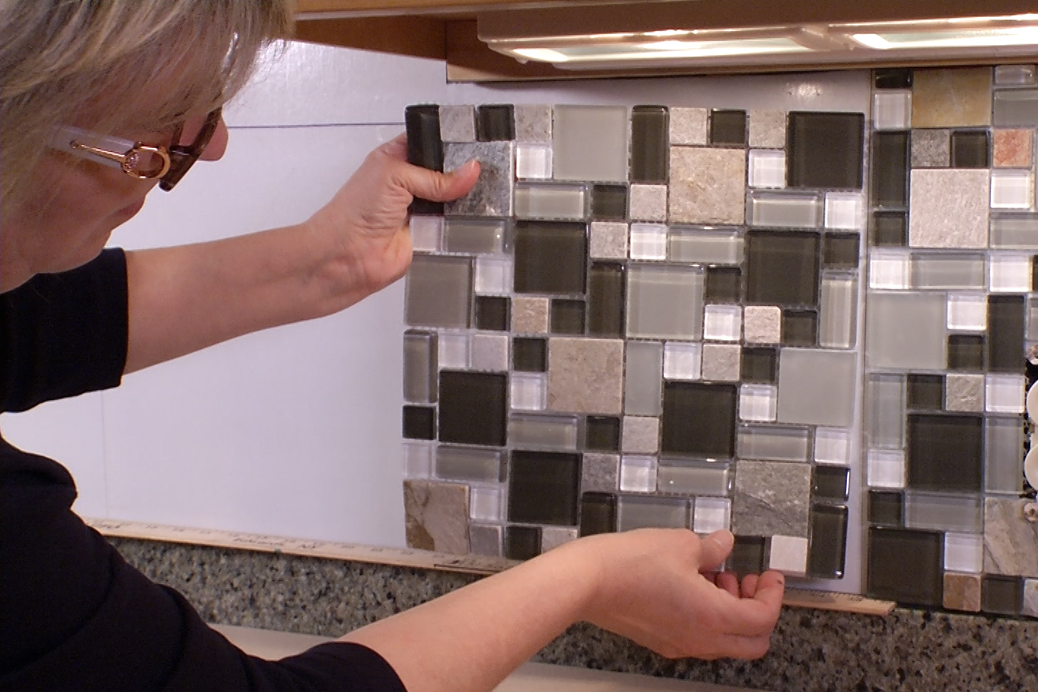 musselbound adhesive tile mat remodeling