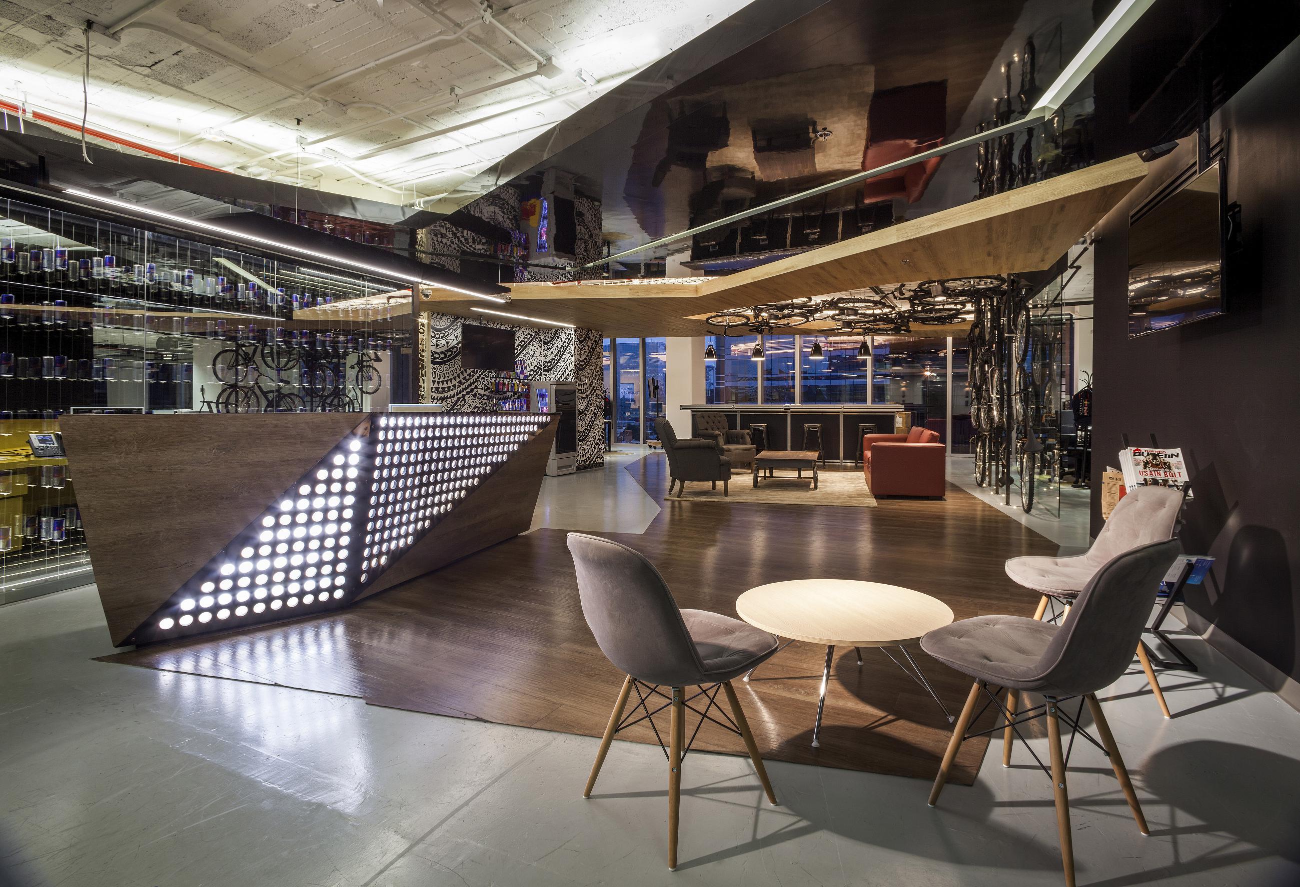 Red Bull Mexico Architect Magazine Mexico Polanco MEXICO Office Interiors New
