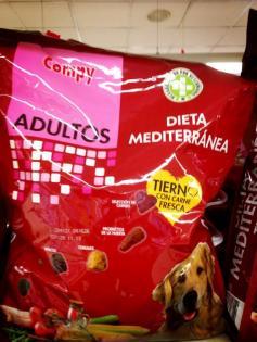 Dieta mediterránea para perros