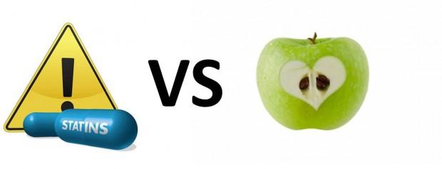 Estatinas vs manzana
