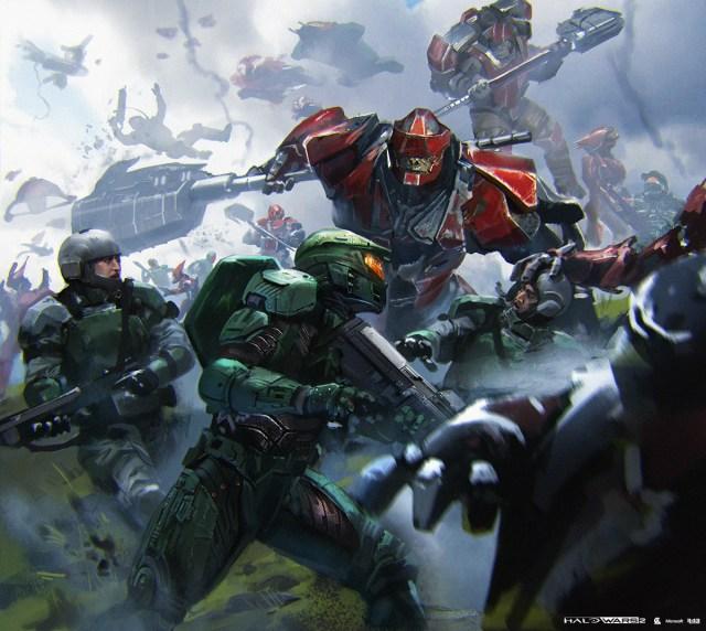 Kunrong Yap - Halo Wars 2 Concept Art