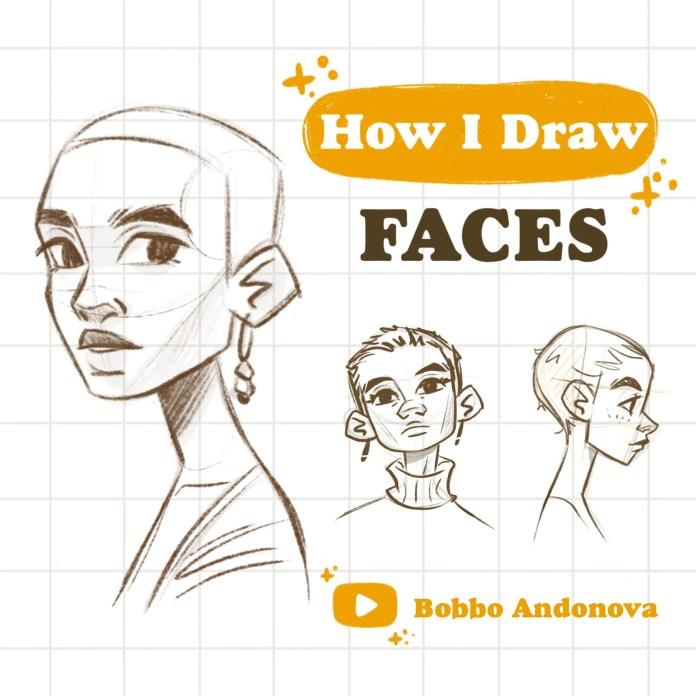 Artstation Face Tutorial Bobbo Andonova