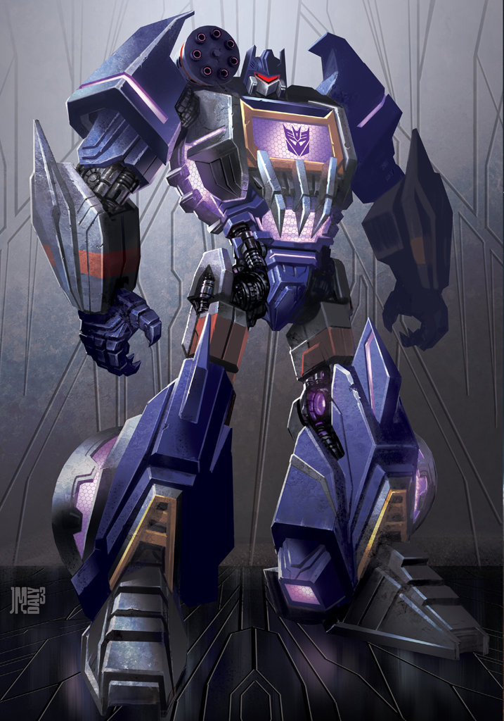 Fan Soundwave Art Transformers Prime