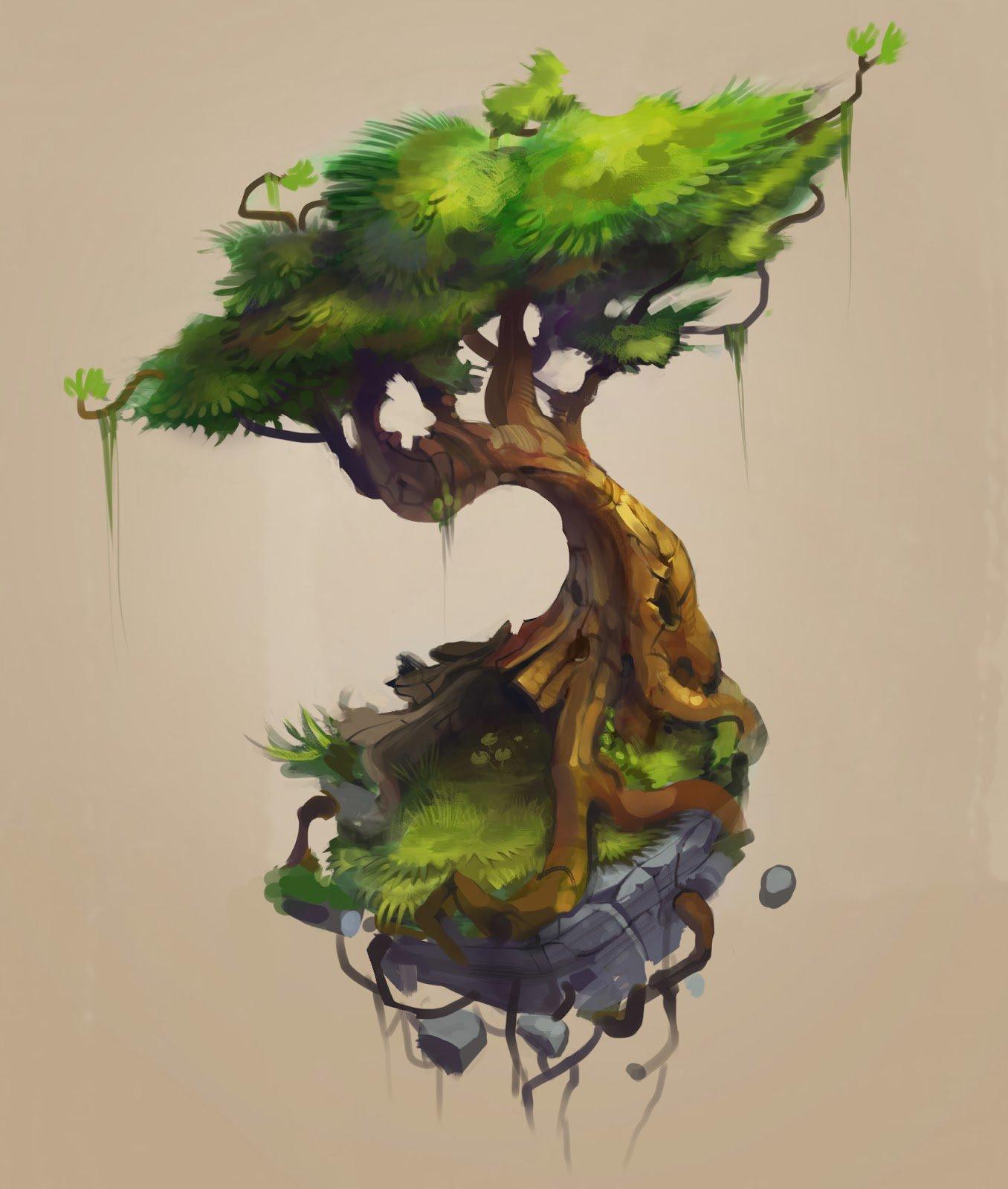 Floating Bonsai Tree
