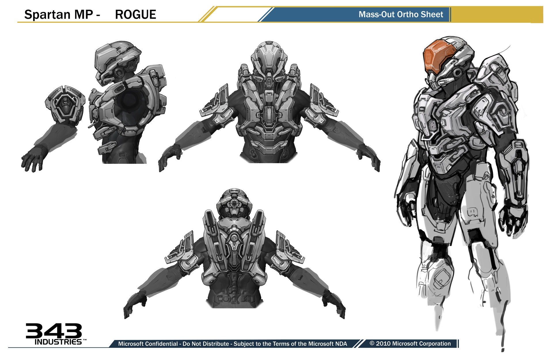 ArtStation Rogue Armor For Halo 4 Kory Hubbell