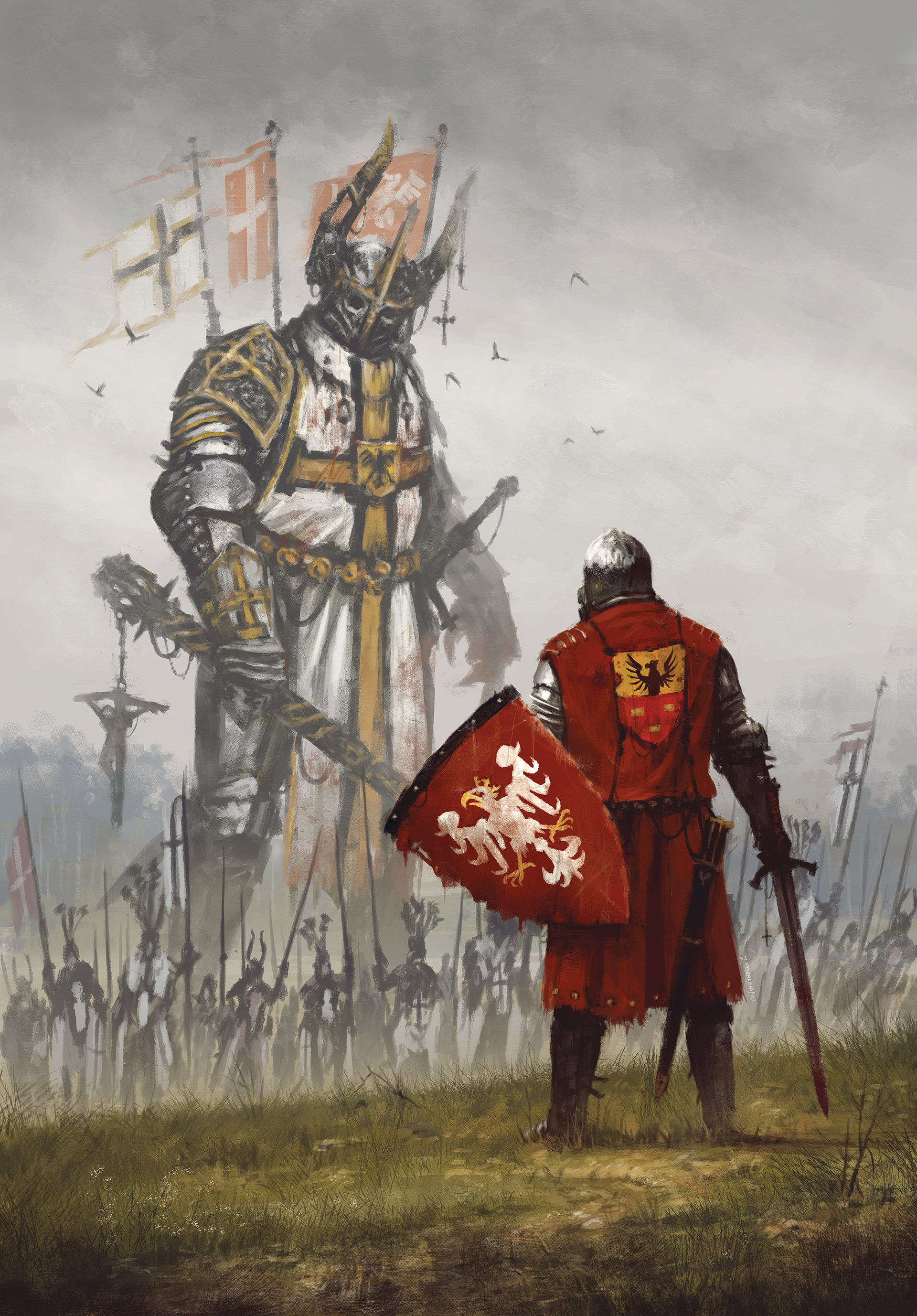 Knights Templar In Poland
