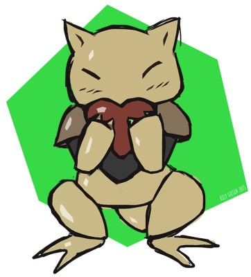 Resultado de imagem para abra love pokemon fanart
