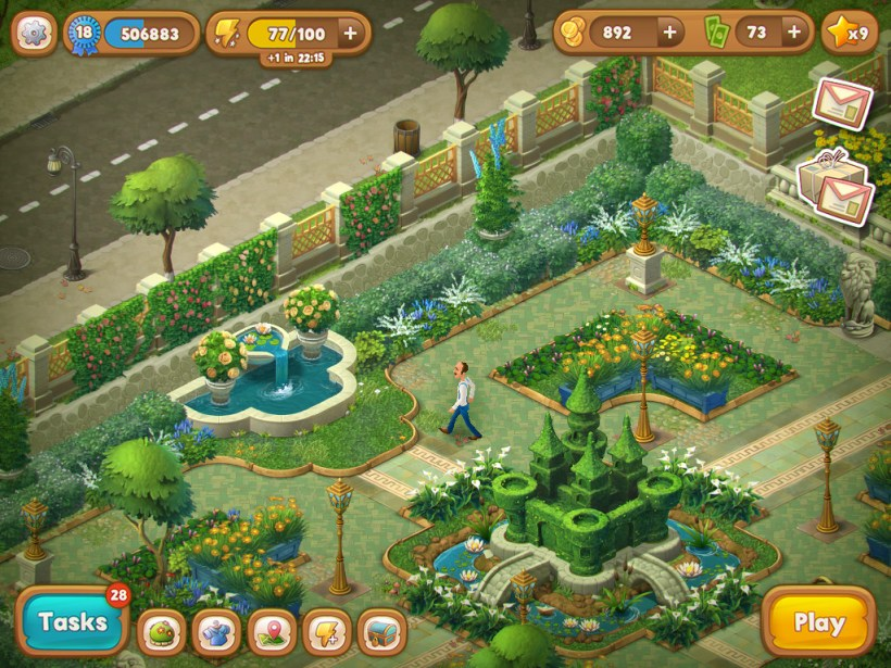 Gardenscape Game Play Online Amtcartoonco