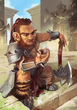 Image result for gnome barbarian