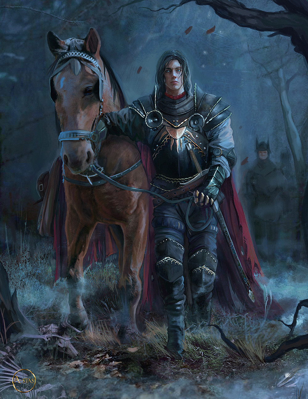 ArtStation The Witcher Cahir A Stas