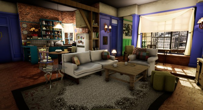 Monica S Apartment From Friends In Unreal Engine 4 Finished