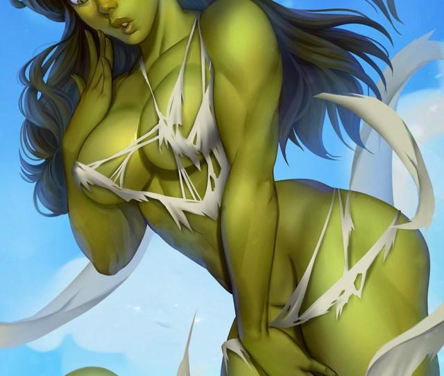 Artstation She Hulk Ops Marvel Fanart Didi Esmeralda