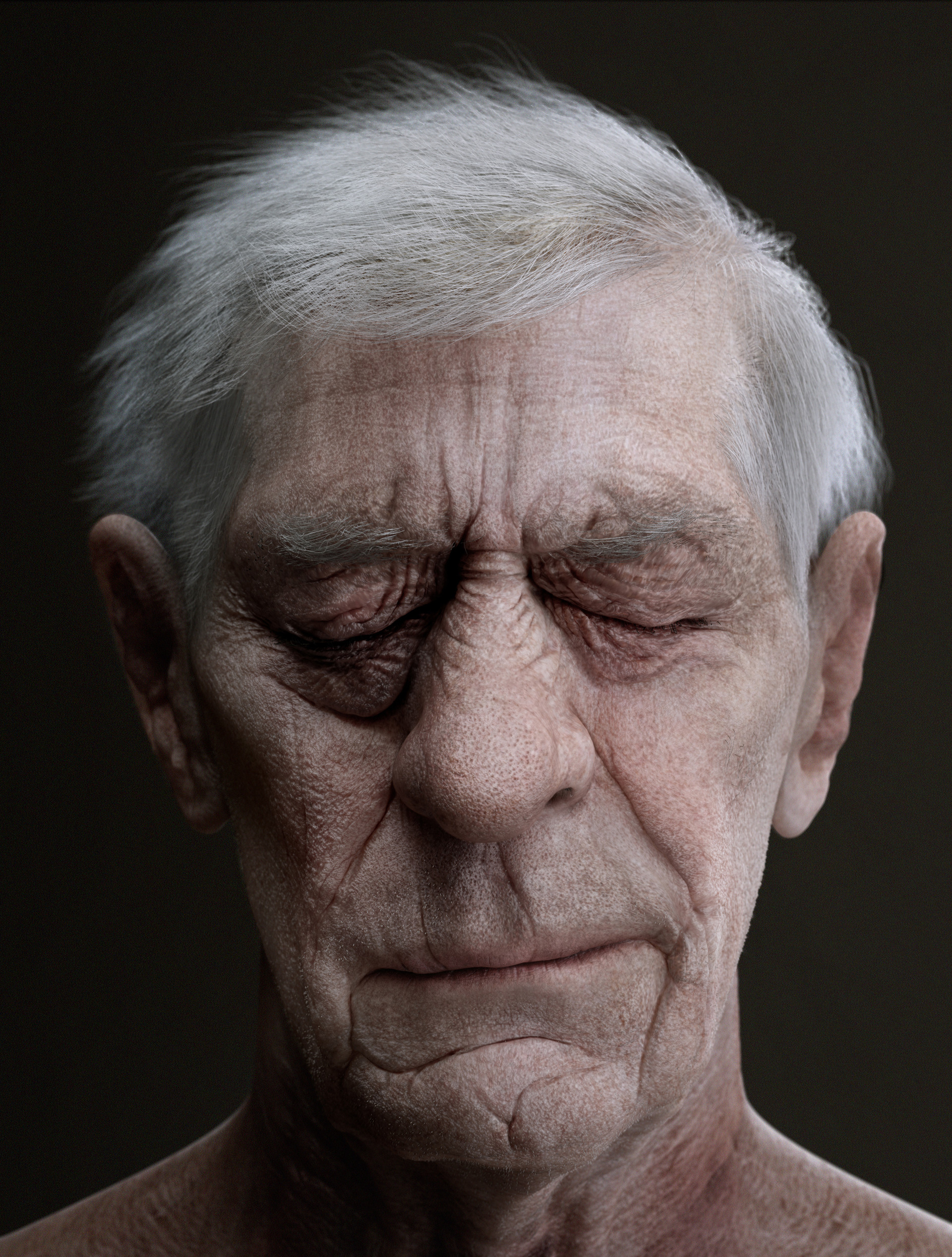 ArtStation - Old man's portrait. (final), Venetis Kokonas