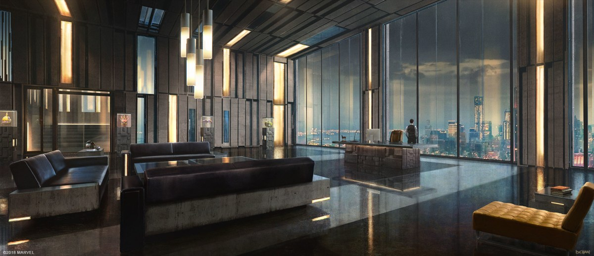 Normans Oscorp Office Interior