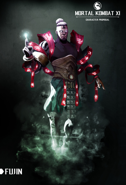 Riccardo Pasquali Mortal Kombat Xi Character Re Design