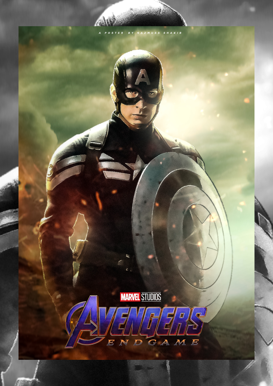 avengers endgame fanmade poster