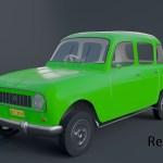 Artstation Renault R4 Eden Chisvo