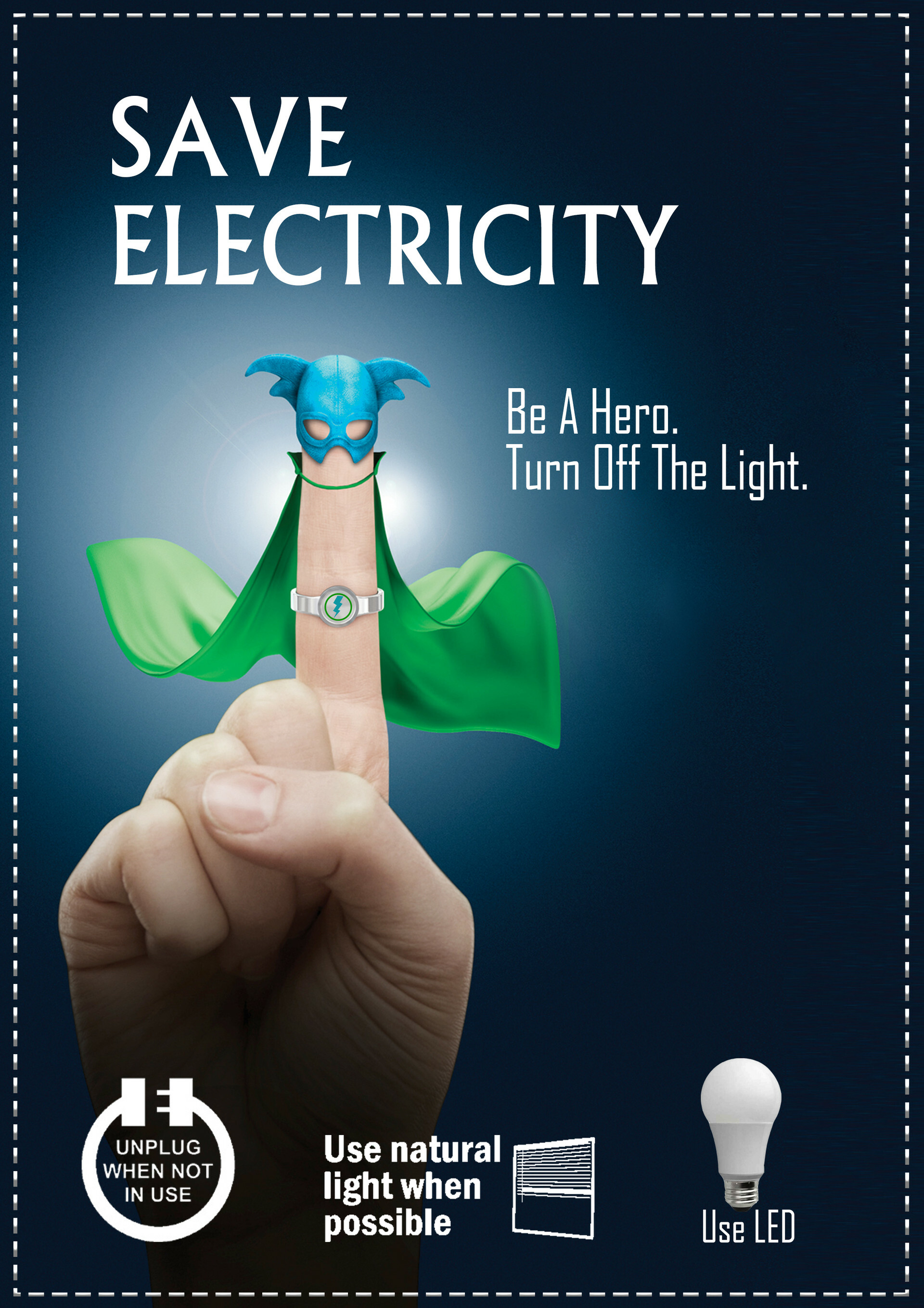 Artstation Save Electricity Poster Simrat Singh