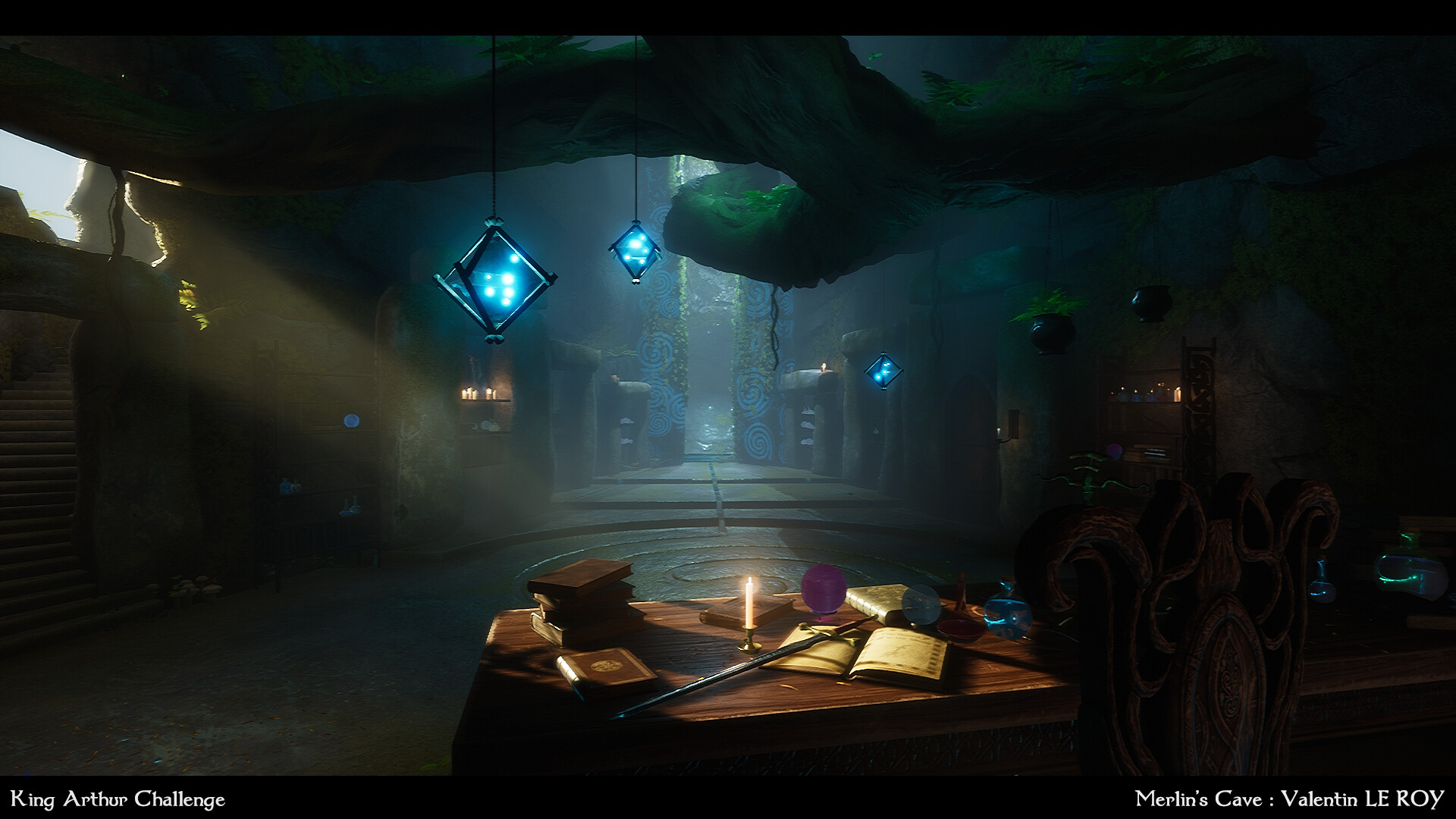 cave artstation environment challenge