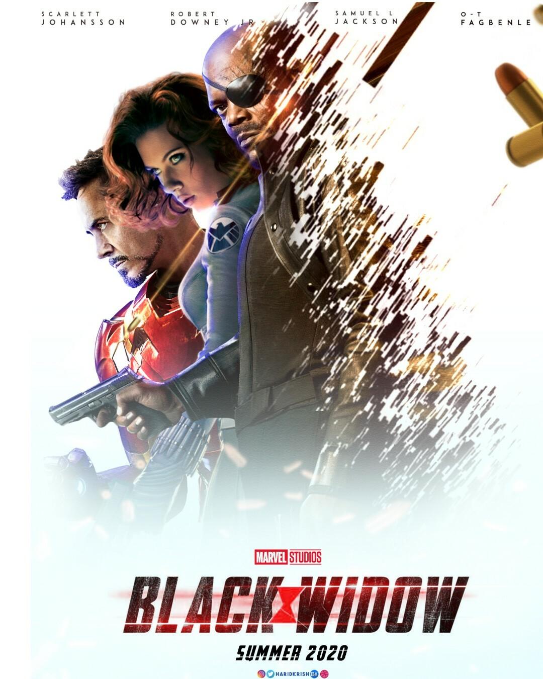 hari krish black widow poster