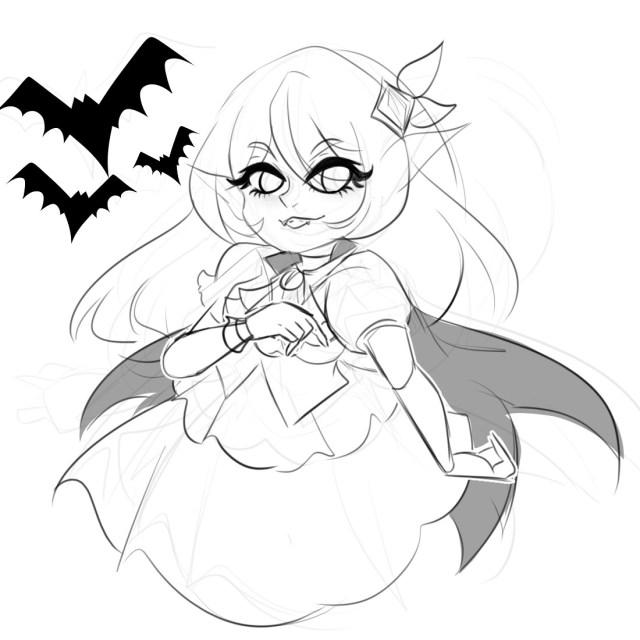 Magan t vampire sketch