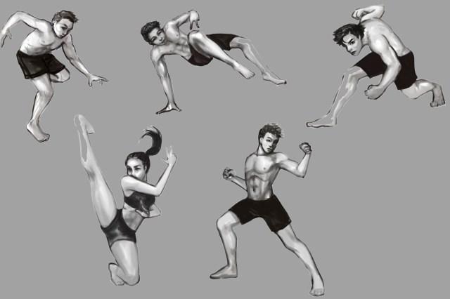 Levi park figure drawings