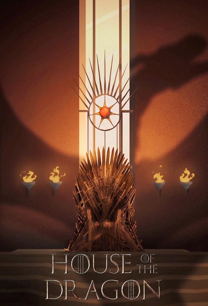 ArtStation - House of the dragon posters, Wafi Targaryen