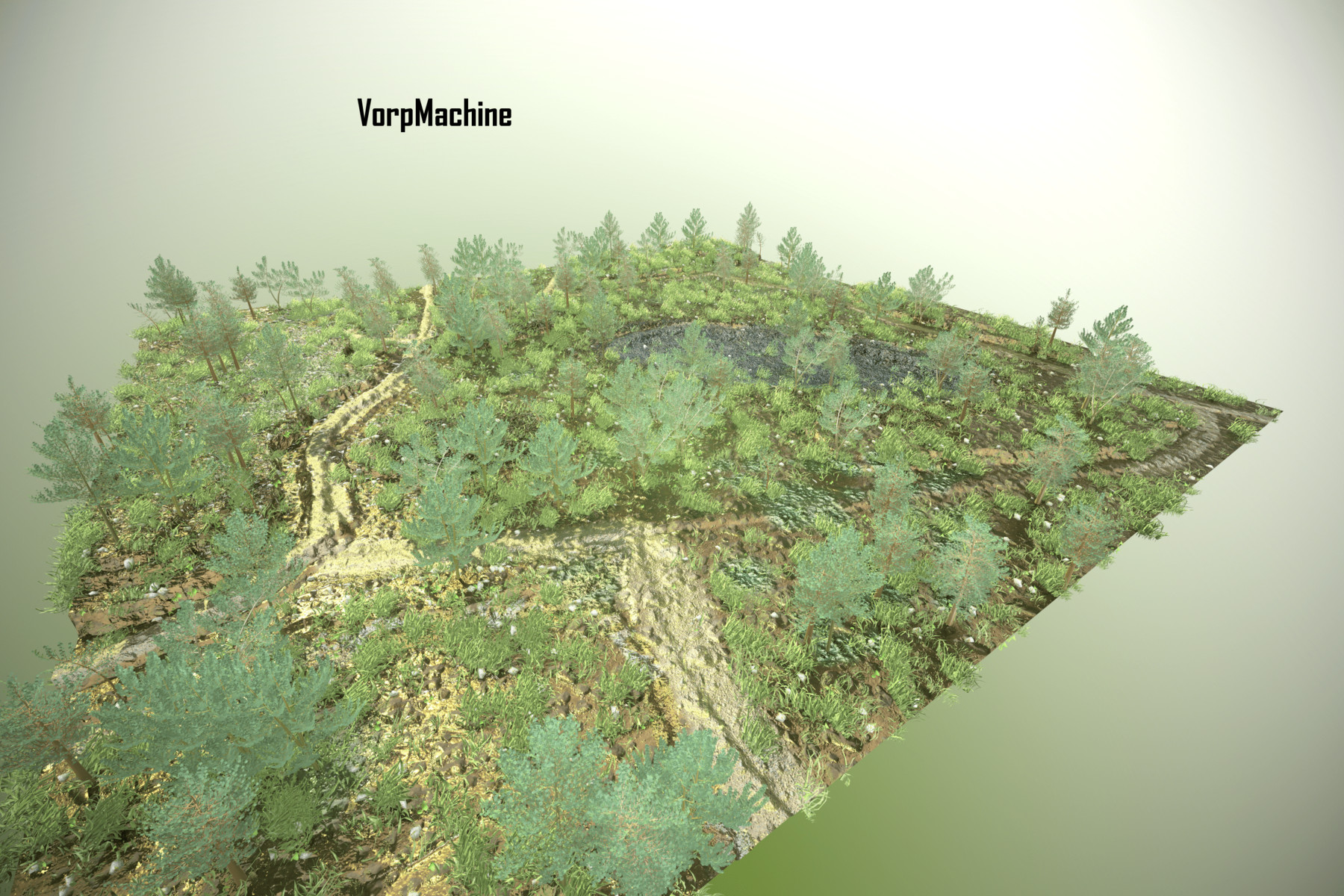 At the moment, deforestation is worst in the far west of ivory coast, in areas such as goin debe and cavally, the maps show. Artstation 3d Forest Map Resources