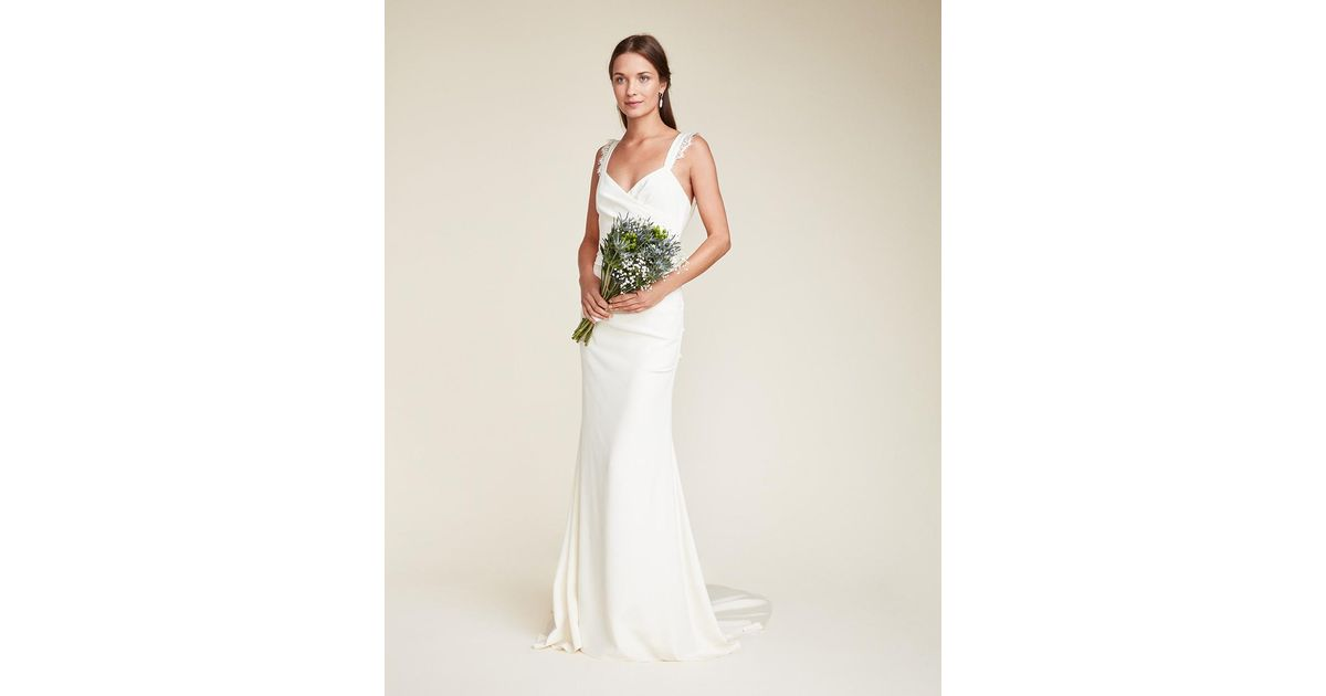 Nicole Miller Alexis Bridal Gown In White