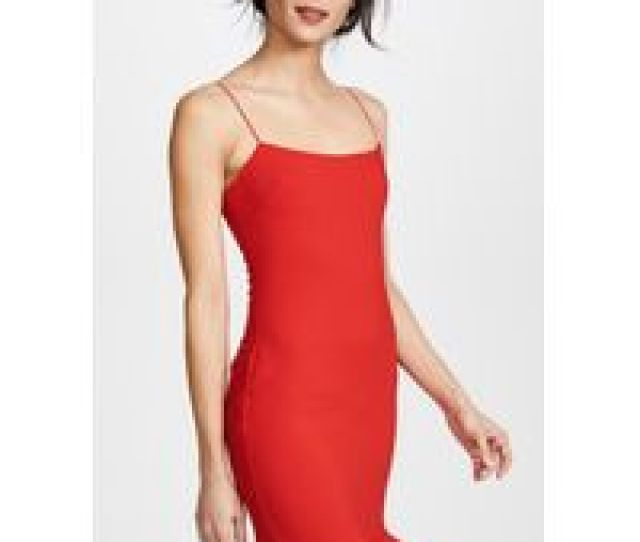 Womens Red Banks Dress