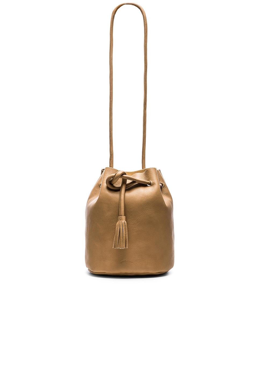 Lyst Shaffer The Dana Bucket Bag In Metallic