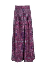 Yves Saint Laurent Paisley Palazzo Trousers