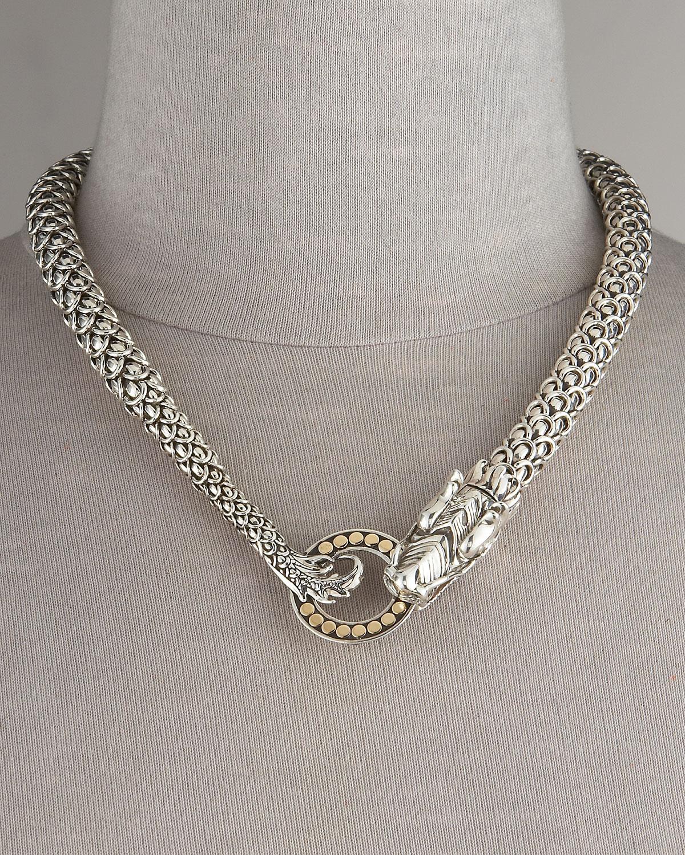Lyst John Hardy Naga Dragon Necklace In Metallic