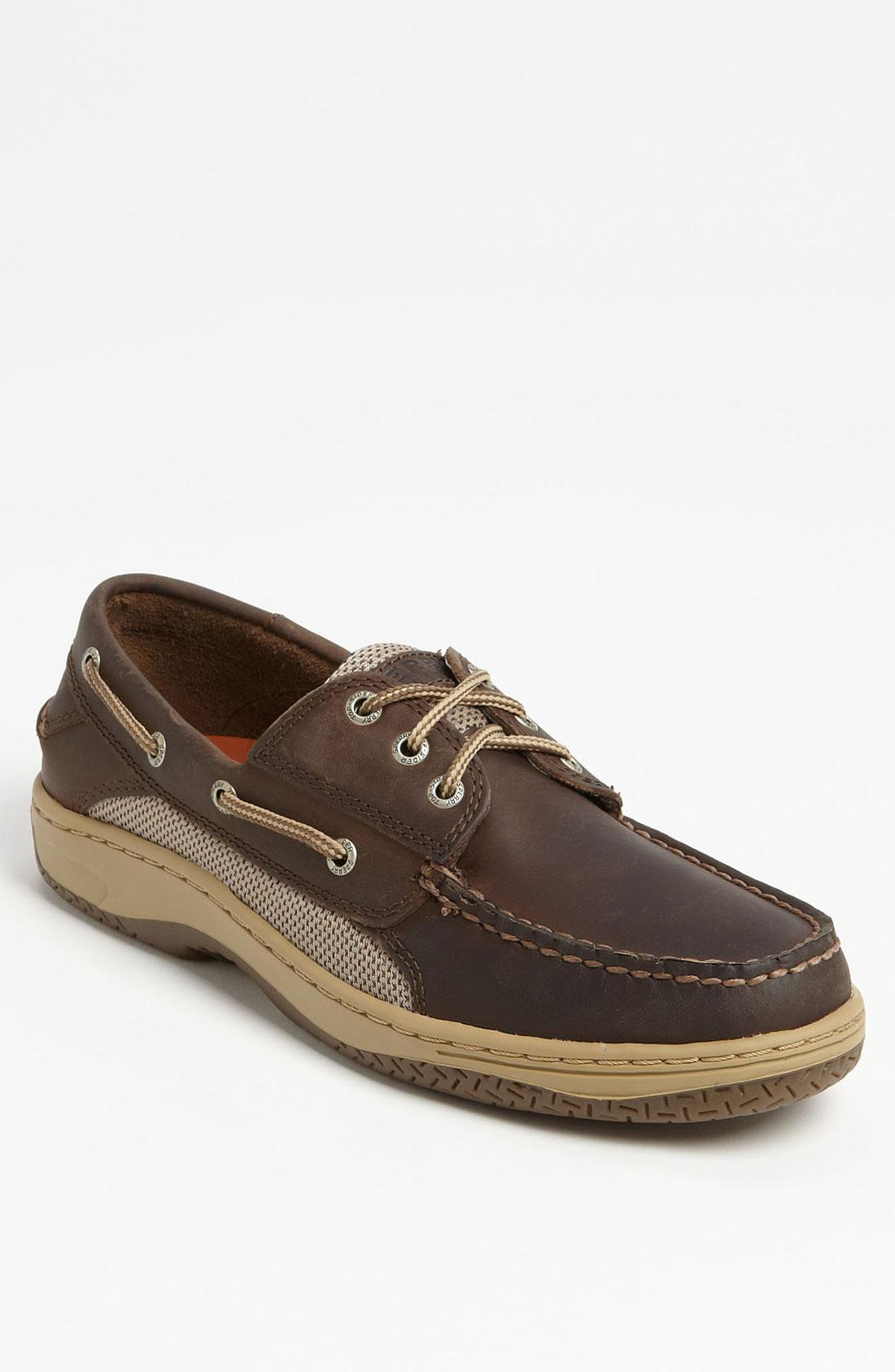 Dark Brown Boat Shoes