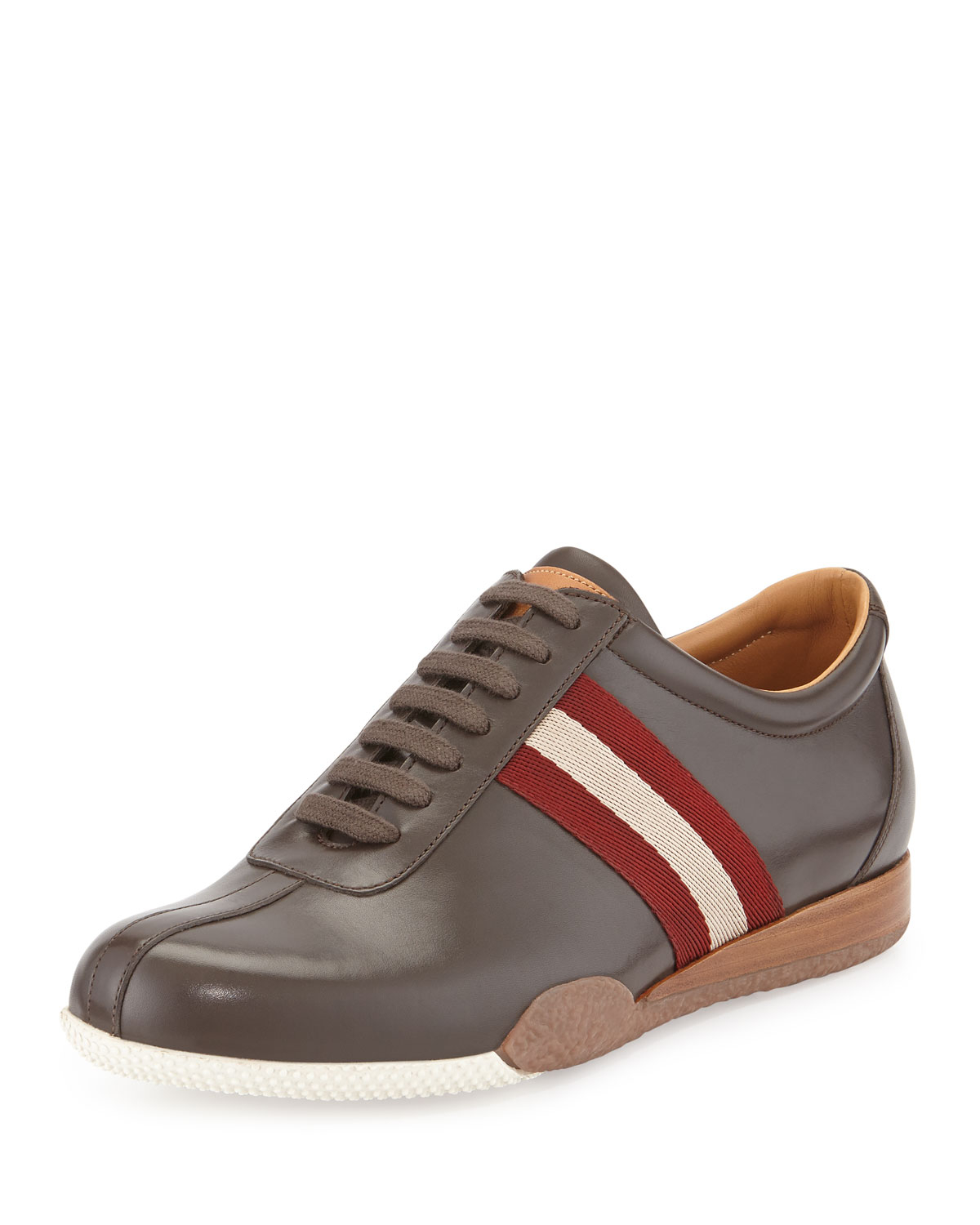 Bally Freenew Leather Sneakers For Men