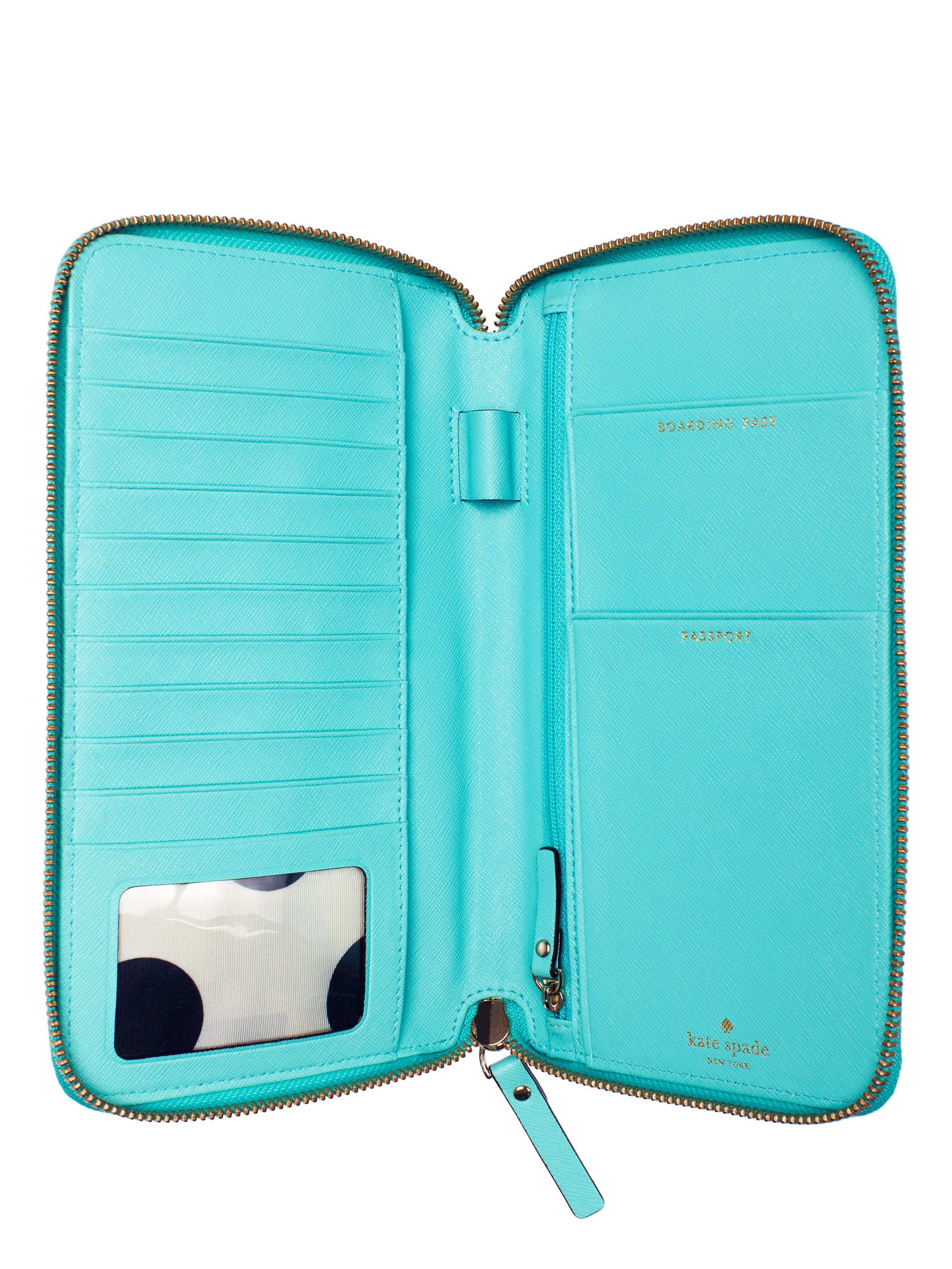 Kate Spade Light Blue Wallet