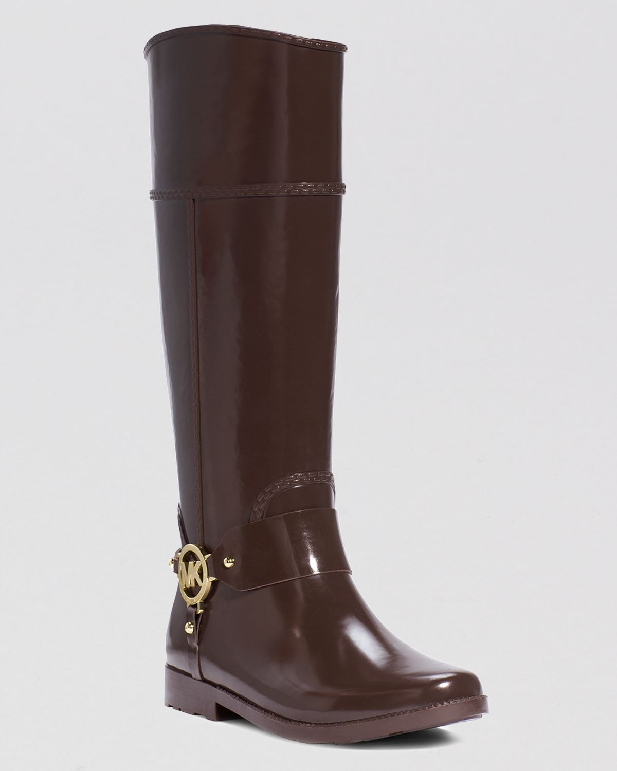 Michael Michael Kors Tall Harness Rain Boots Fulton In