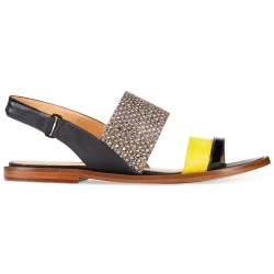 d77bccf8577 Lyst Enzo Angiolini Jabell Flat Sandals In Black