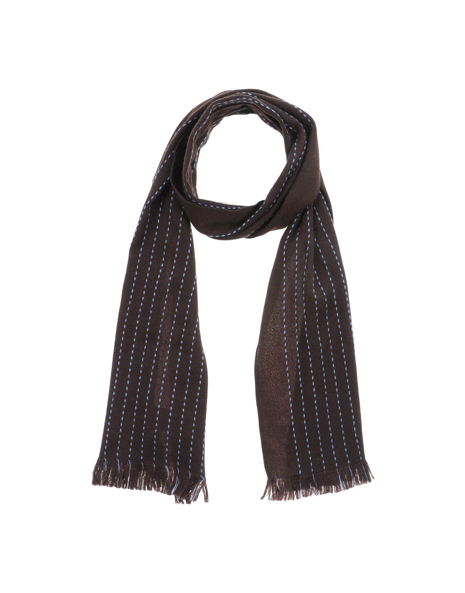 Dondup Oblong Scarf In Brown For Men Lyst