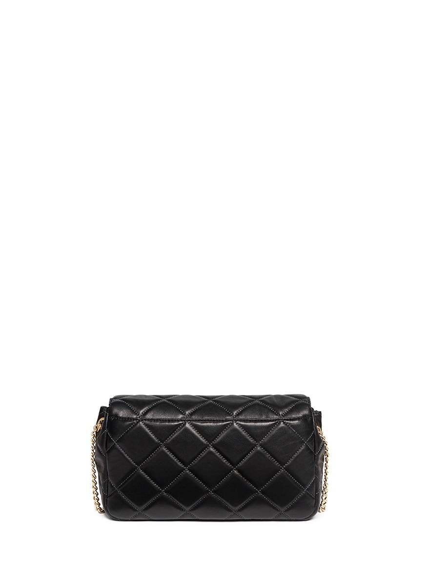 a16719991deb Michael Michael Kors Sloan Quilted Leather Messenger Bag - Modern ...