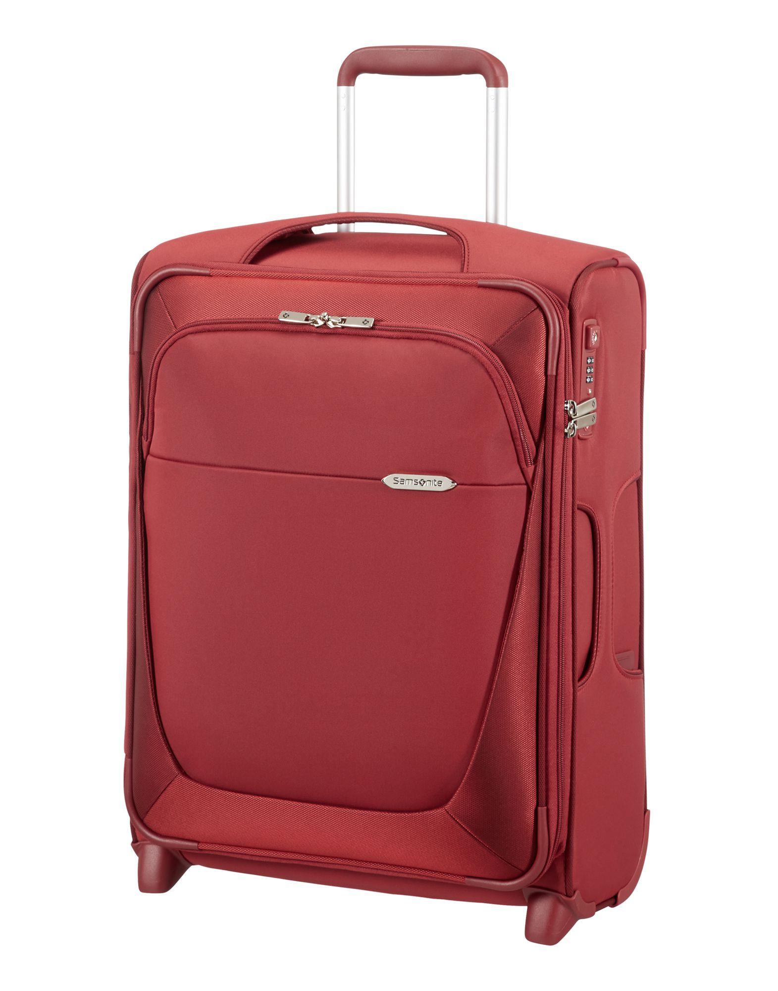 Samsonite Wheeled Luggage In Red Brick Red Lyst