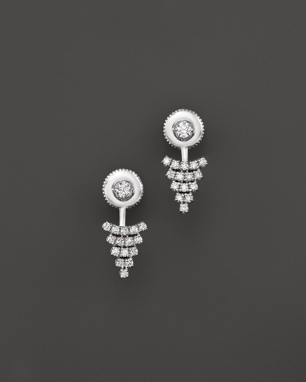 Earrings Studs Flat Black