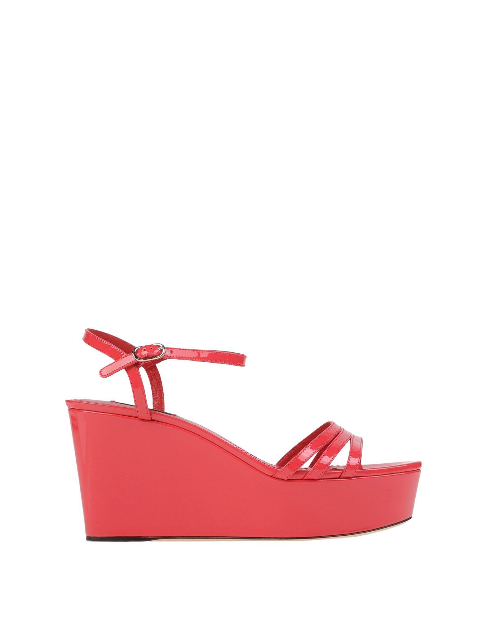 Dolce Amp Gabbana Sandals In Pink Lyst