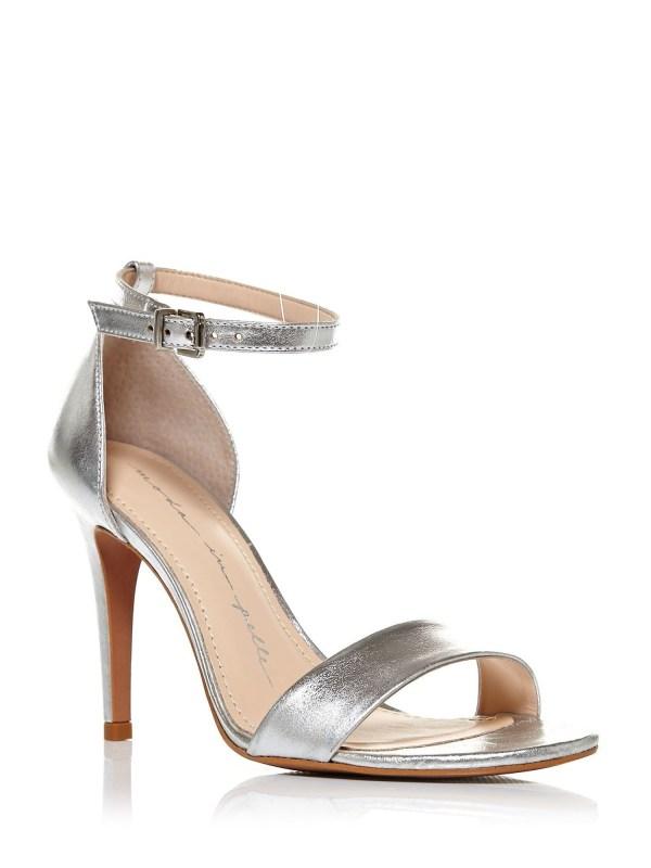 Moda in pelle Lumia Clean Sandals in Metallic   Lyst