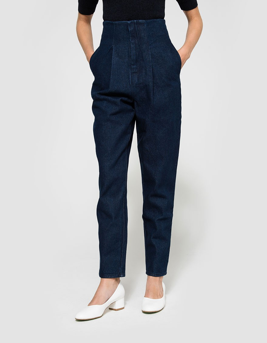 Lyst The Fifth Label Fact And Fiction Pant In Blue